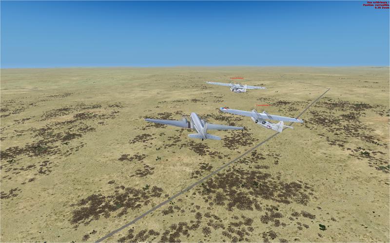 Vol en formation en Afrique (DC3) 7168112013222223024991