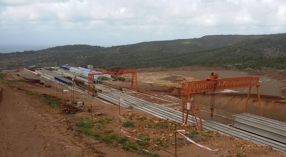 مشاريع المنشأت القاعدية بالجزائر 718391tra