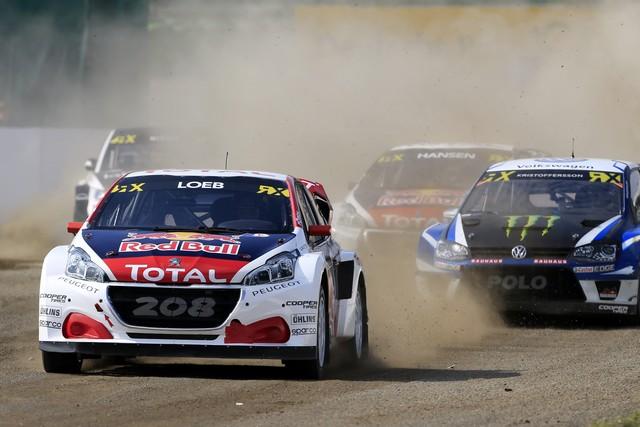 Rallycross - Les PEUGEOT 208 WRX dans le match, Timmy Hansen sur le podium à Hockenheim 718759590eca0653572