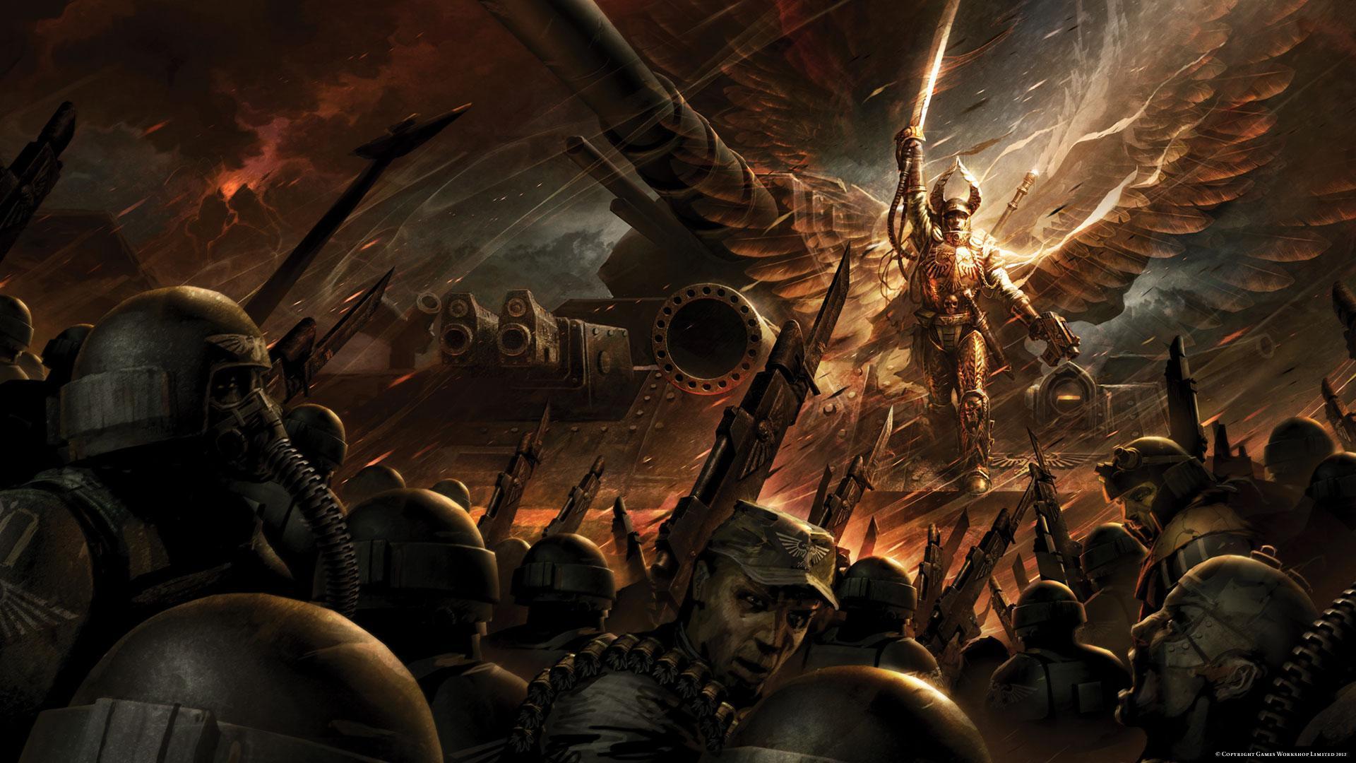 La Croisade Macharienne Tome 1 : l'Ange de Feu de William King 719040AngelofFire