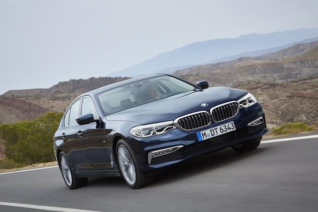 La nouvelle BMW Série 5 Berline. Plus légère, plus dynamique, plus sobre et entièrement interconnectée 719324P90237312highResthenewbmw5series