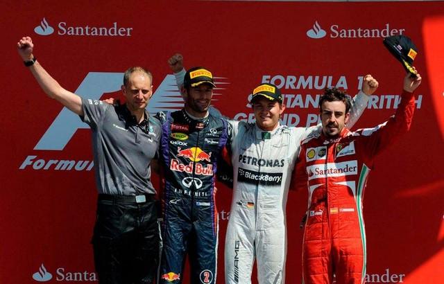 F1 GP de Grande-Bretagne 2013 : (essais libres-1-2-3-Qualifications) 7211952013MarkWebberNicoRosbergFernandoAlonso1