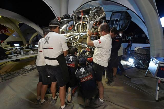 Team Peugeot Total : Rallye du Maroc / ETAPE 2 : Boucle du Drâa 72178005315002046