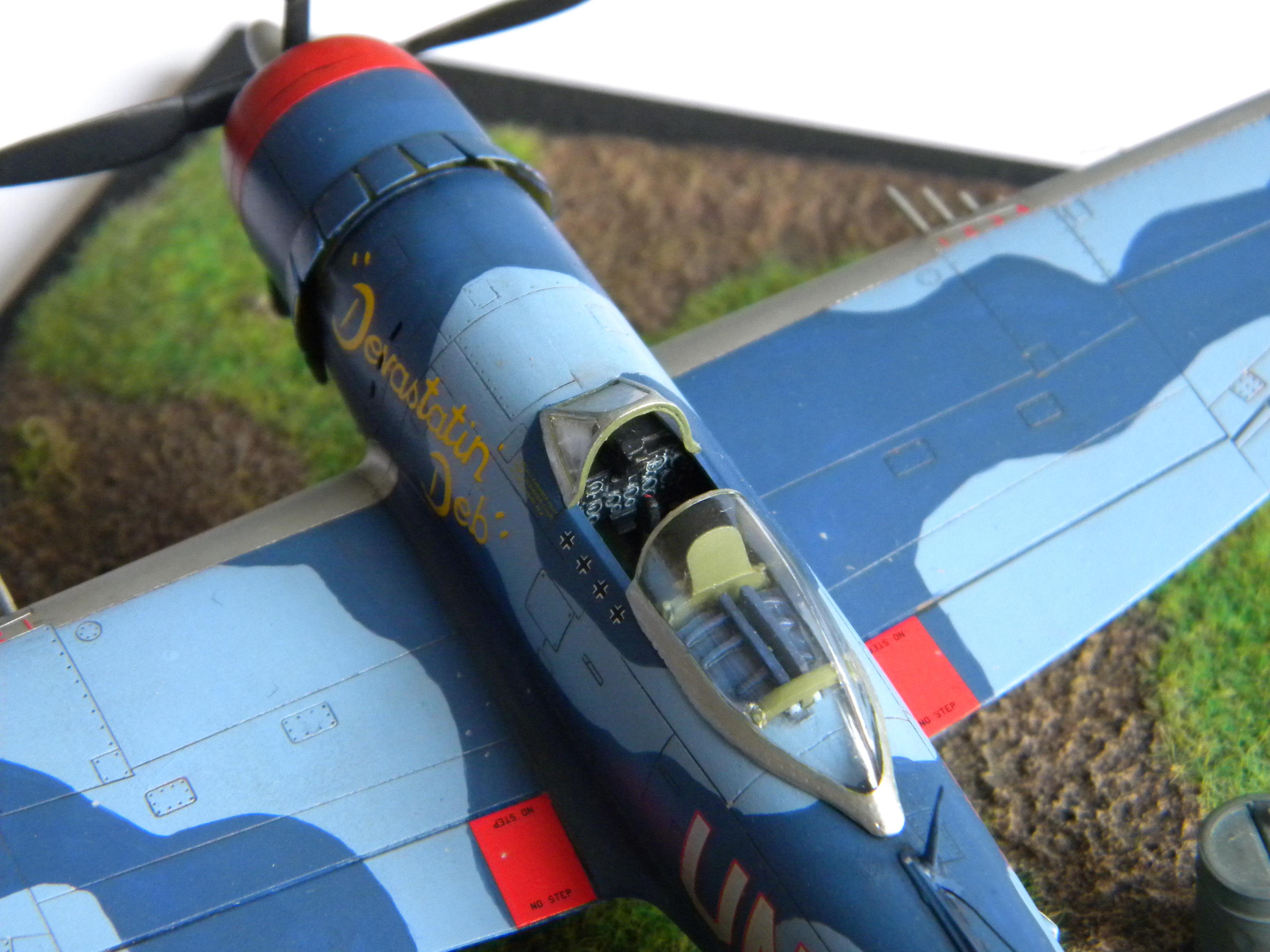 [Revell] P-47M Thunderbolt 722606DSCN9490