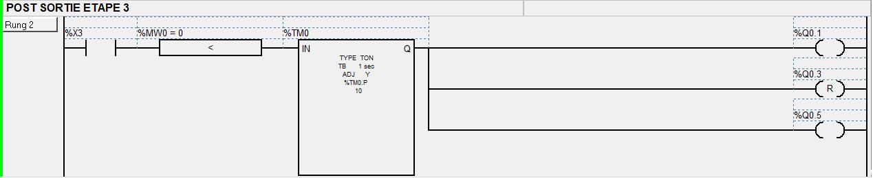Programme automate sous TWIDO 722765POST2