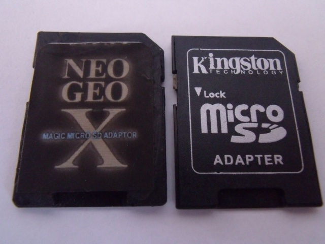 Review du Magic MicroSD Adaptor 724830DSCF6663