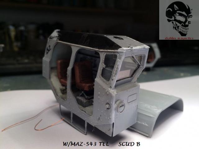 W/MAZ -543 TEL  SCUDB  maquette dragon 1/35 726151IMG4305