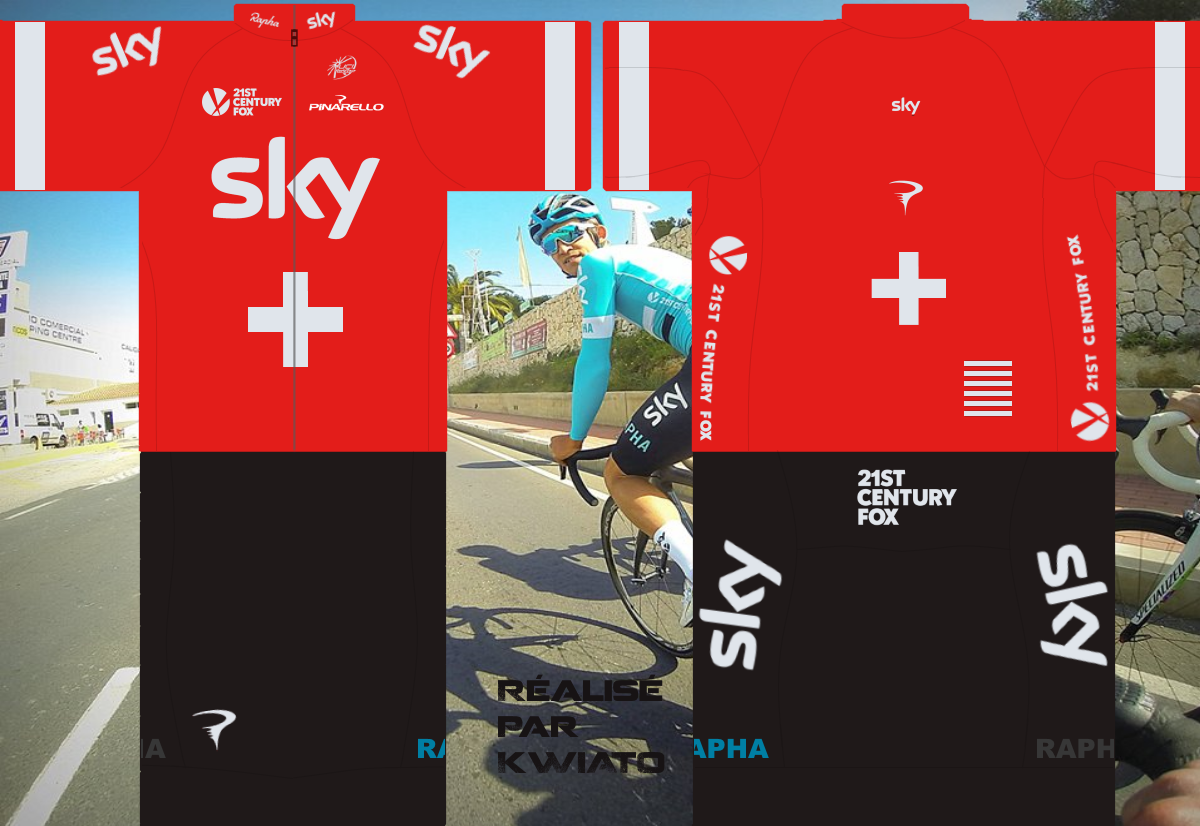 SKY Pro Cycling 727066skymaillotsui