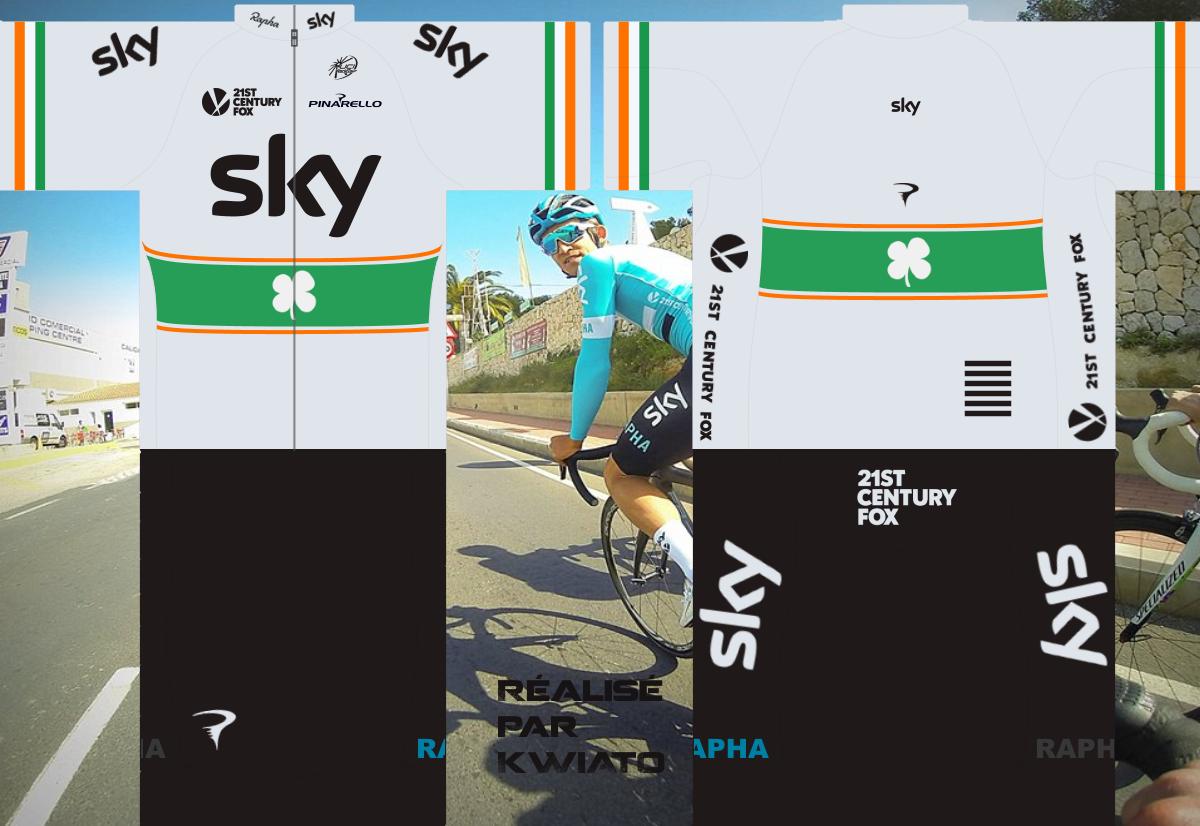 SKY Pro Cycling 727595skymaillotirl
