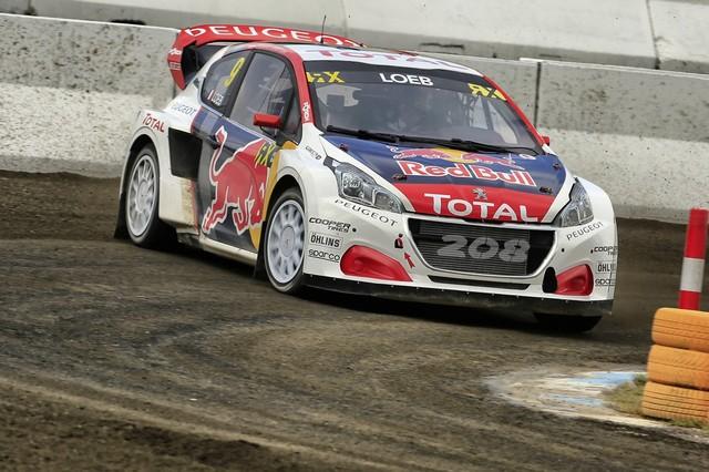 Rallycross - Les PEUGEOT 208 WRX dans le match, Timmy Hansen sur le podium à Hockenheim 728182590ec95933537