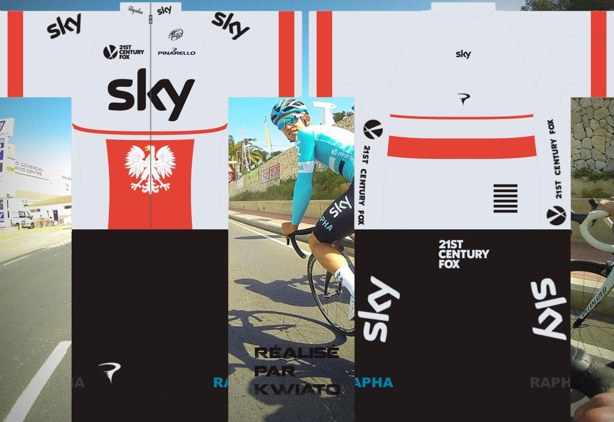 SKY Pro Cycling 728987skymaillotpol