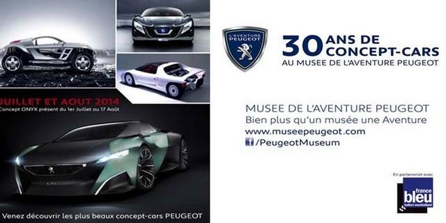 Musée de l'Aventure Peugeot : « 30 ans de concept-cars Peugeot » 73061301b5671e87