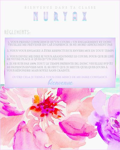 (header + débutant) nuryax - gorgeousmali 730714pourclassebazznuryax
