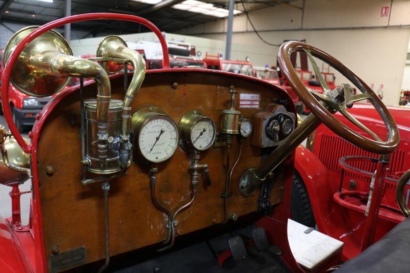 Des camions à gogo....Musée des sapeurs pompiers de Lyon 730816IMG6822