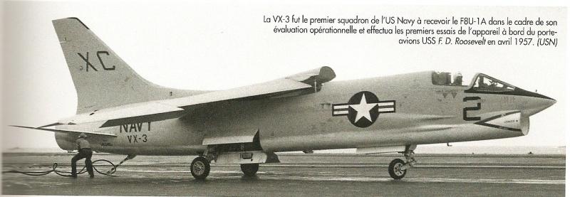 VOUGHT F-8 CRUSADER  730934VoughtF8U1ACrusaderVX3CVA42avril57