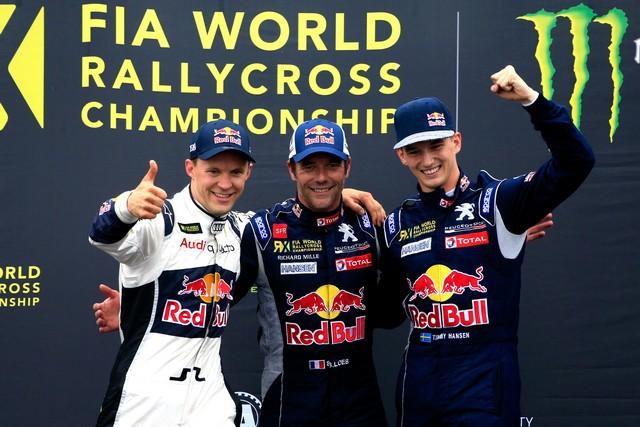 Rallycross - Sébastien Loeb remporte sa première victoire au volant de la PEUGEOT 208 WRX ! 73222057f12746168b3