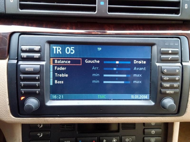 [TUTO toutes BMW jusqu'à 2003] Les menus du GPS mk4 (notions 732235BoutonTone