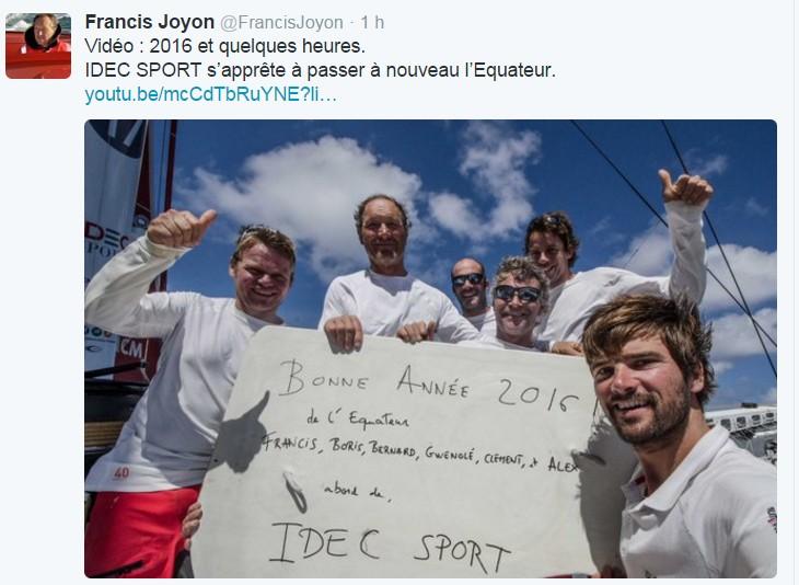 Francis Joyon autour  du monde ........en équipage - Page 7 733506ScreenHunter1054Jan011459