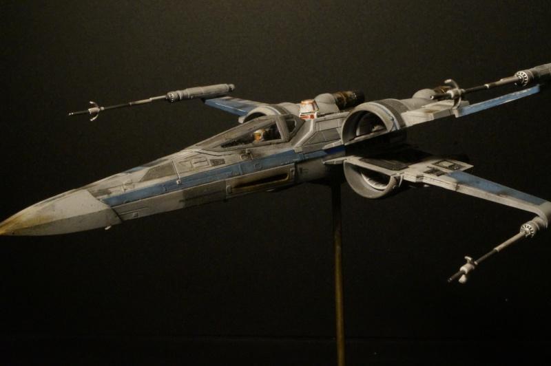 "X-Wing ""Resistance"" T-70 Bandaï 1/72 734996DSC01552"