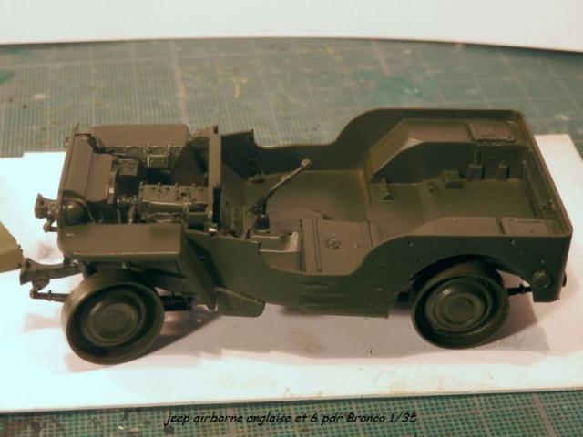 jeep indochine - 6 pdr ,jeep ,équipage airborne Bronco 1/35 (sur la route de Ouistreham) 735416P5020104
