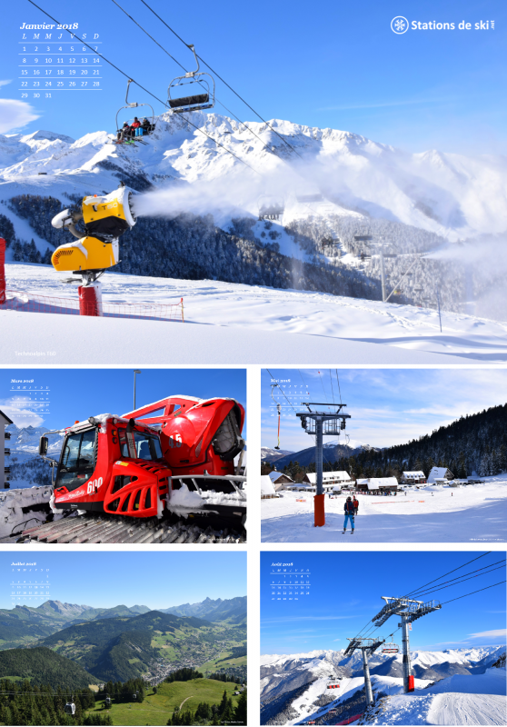 Calendrier 2018 Stations de ski 738434calendrier2018