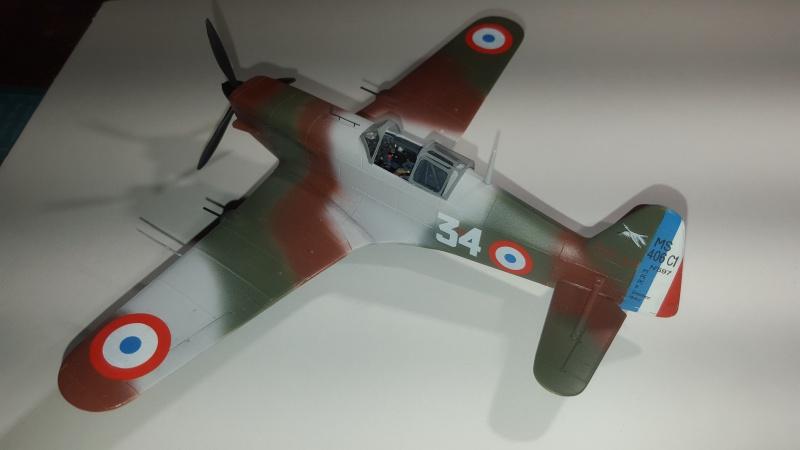 Morane Saulnier MS 406 - 1/48eme AZ Models  - Page 2 73970320160201205723
