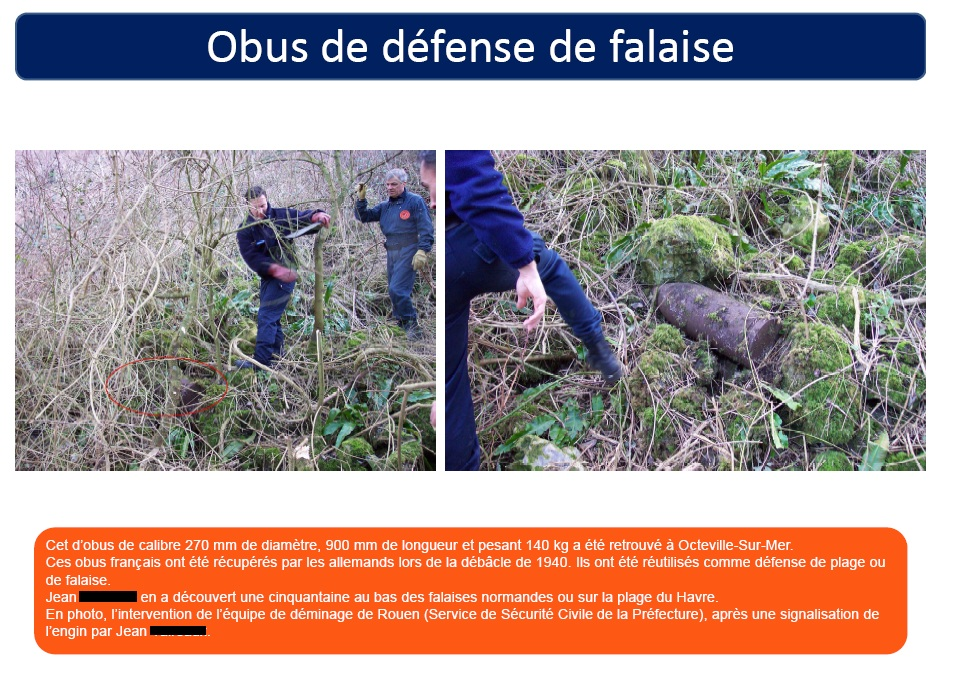DECOUVERTES D'ENGINS DE GUERRE - ATTENTION !!! 742363663