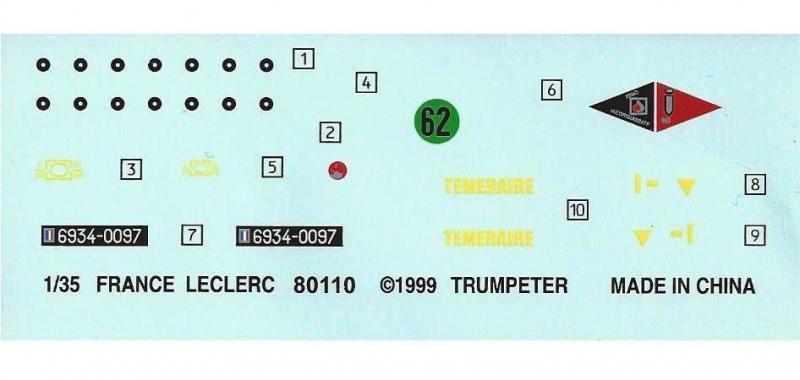 [MINI HOBBY MODELS] GIAT LECLERC 1/35ème Réf 80110 743899LeclercMHM135012