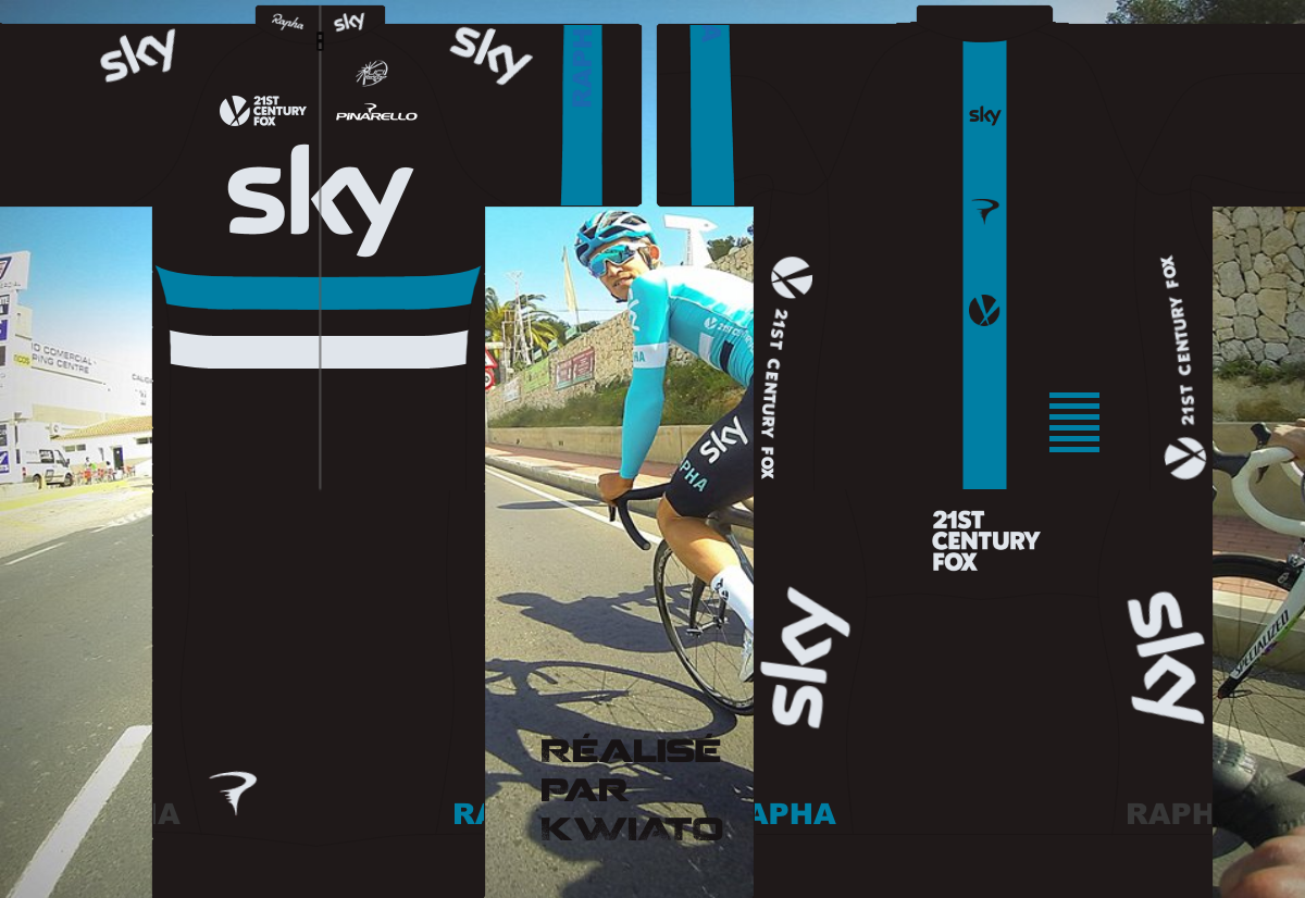 SKY Pro Cycling 745054skymaillot