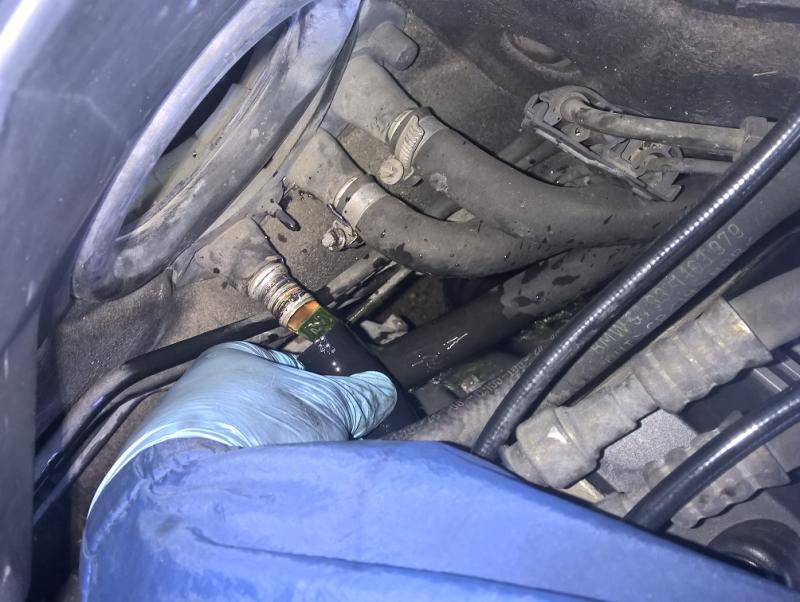 [ BMW E39 535i V8 M62 an 1997 ] Problème sur le circuit de refroidissement (résolu ) - Page 2 745519Duriteretour