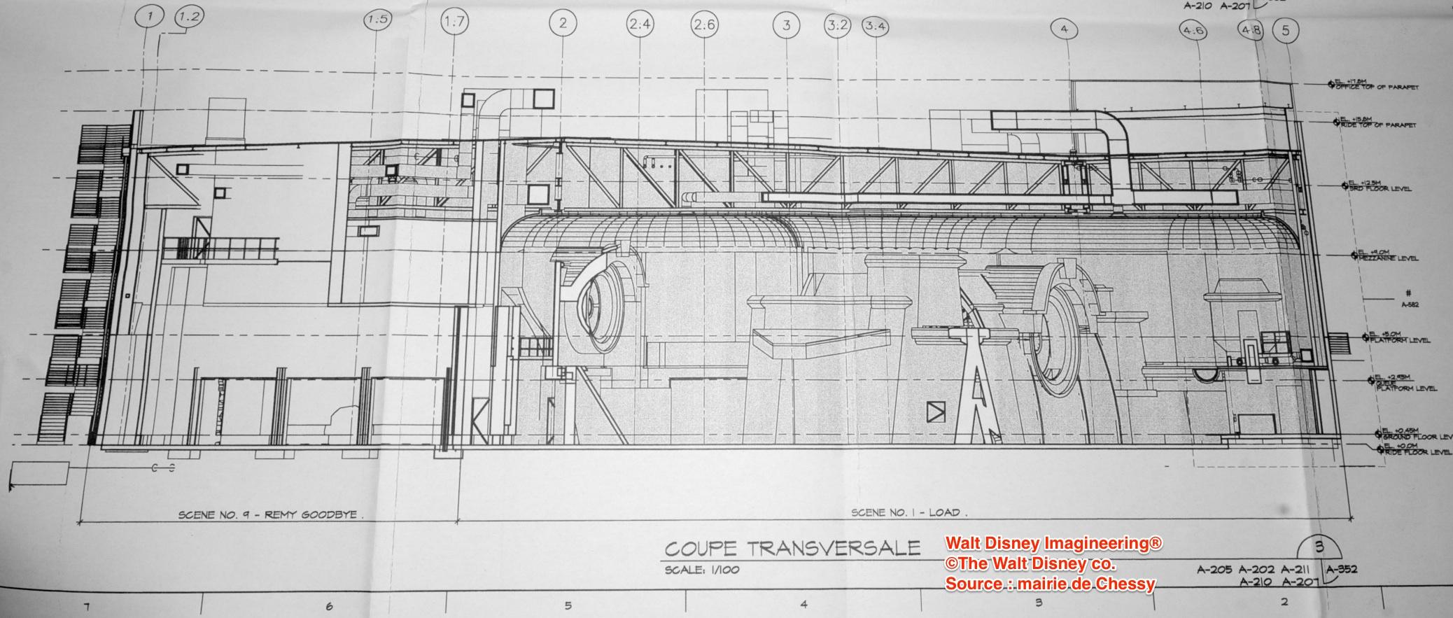 [Attraction et Restaurant] Ratatouille au Parc Walt Disney Studios (été 2014) - Page 15 745577PlanRatatouilleCoupe8CR