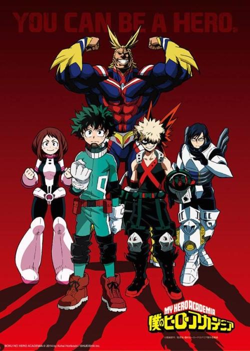 [MANGA/ANIME] My Hero Academia (Boku no Hero Academia) ~ 746023193433911113487655720891946595565677937554n1