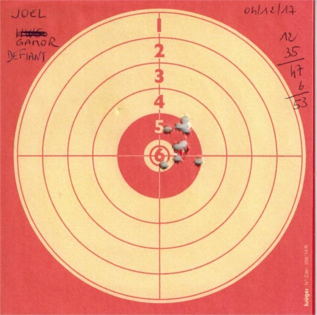 Tests plombs avec carabine Gamo Replay 746247GAMOREPLAYDEFIANT1