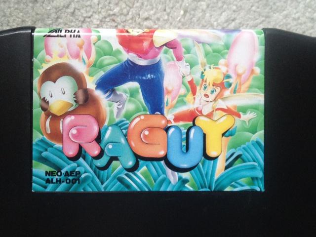 Sticker bizarre Raguy boite carton AES jap 747477IMG1377