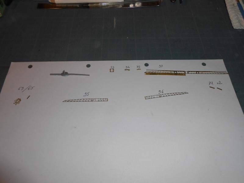 NAGATO Hasegawa 1/350- PE- Ponts en bois - Page 4 748537DSCN6837