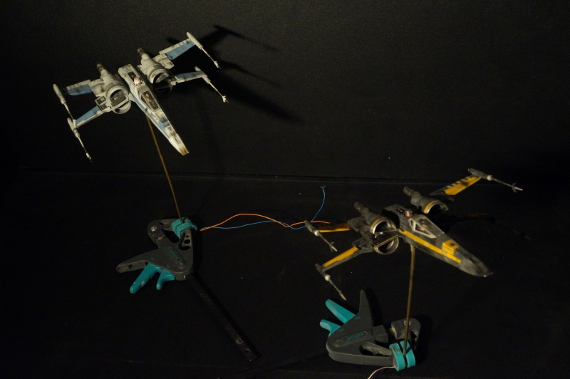 "X-Wing ""Resistance"" T-70 Bandaï 1/72 749293DSC01557"