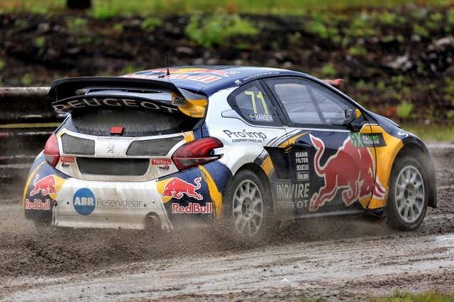 Les PEUGEOT 208 WRX enflamment la Suède - 2ème et 3ème en World RX et victoire en EURO RX 749600wrx201607020213