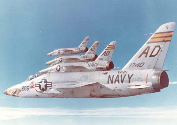 VOUGHT F-8 CRUSADER  750164GrummanF11Tiger