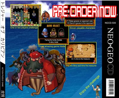 Un nouveau jeu AES Treasure Of The Caribbean 750193preorderArrire