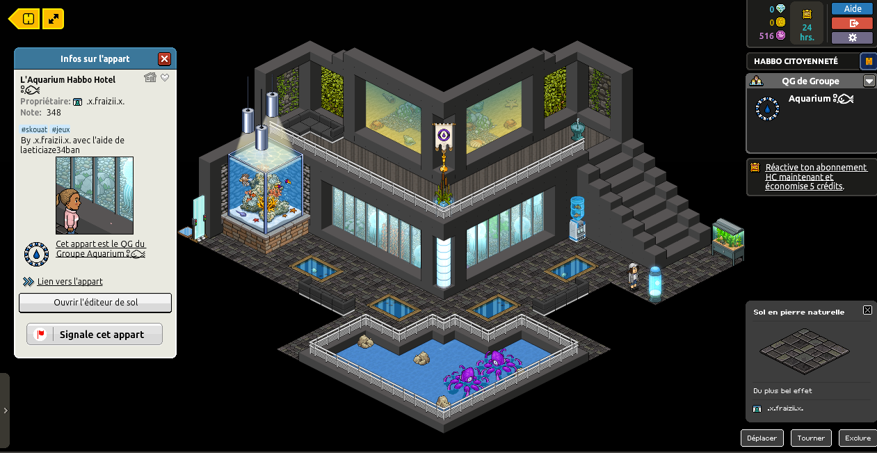 [Leonessia , -.-Amel-.-, Davidop1] L'Aquarium Habbo Hôtel [Bjork-Family] [21/08/2016] 751219861