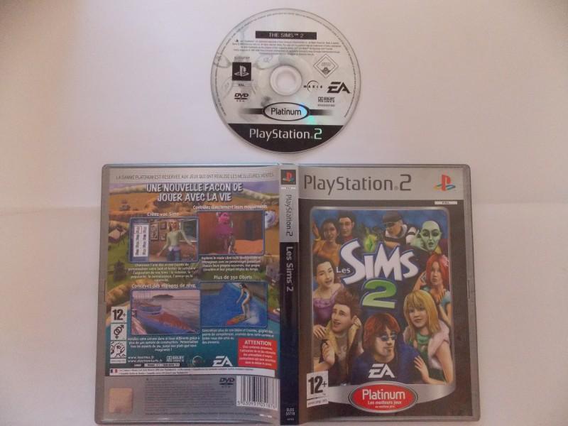 Les Sims 2 751909Playstation2LesSims2plat