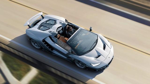 Lamborghini a dévoilé sa Centenario Roadster à Pebble Beach  751957gallery5