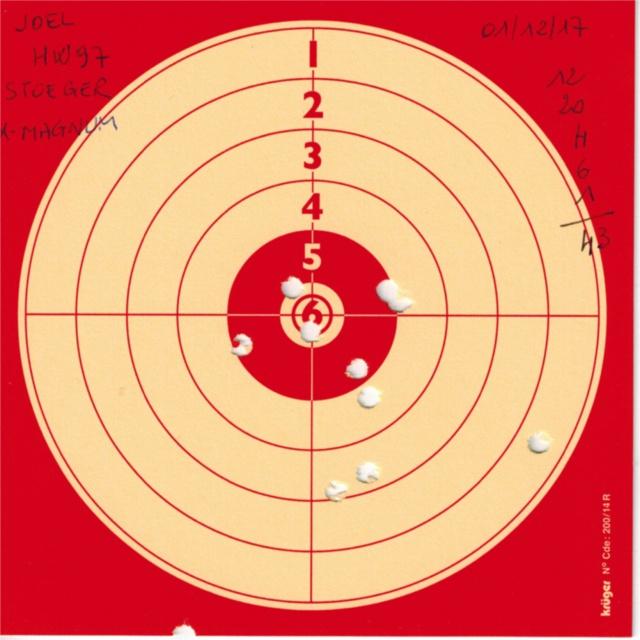 Tests plombs avec carabine Weihrauch HW97 BL 753123HW97STOEGERXMAGNUM
