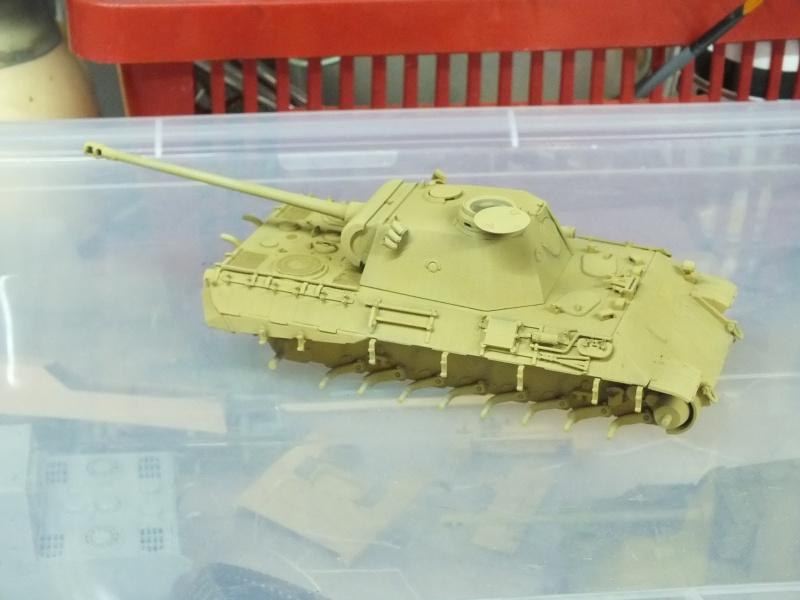 Panther Ausf D Dragon 1/35 avec Zimmerit réf. 6428 (FIN  DE PATINE , finitions lors de la  mise en place sur Dio) - Page 2 753227DSCF6320
