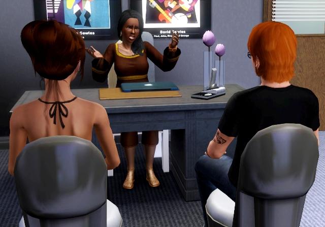 """[Terminé] Sims Histoires de Jobs """"Au bureau"""" - Page 20 755942Screenshot22"""