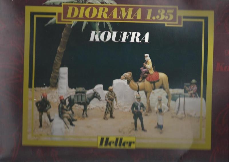 Diorama SAUMUR 1/35ème Réf 81102 756710DioramaKoufraHeller135