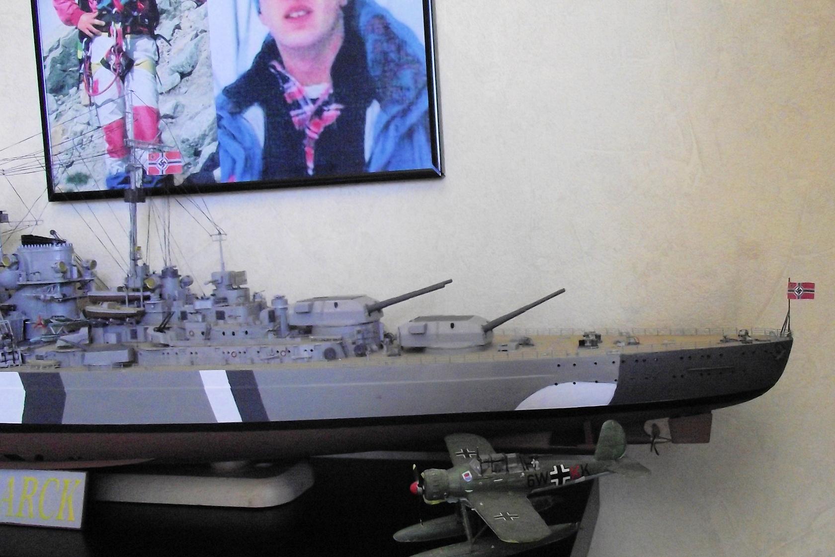 Bismarck Trumpeter 1x200 avec PE et figurines Eduard 758239BismarckTrumpeter1x2004