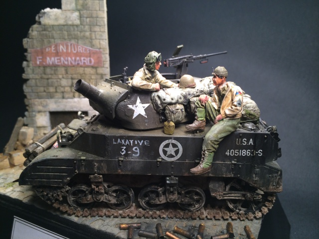 M8 howitzer motor carriage (Tamiya 1/35) unité Hell on Wheels, France 44 758441IMG3489