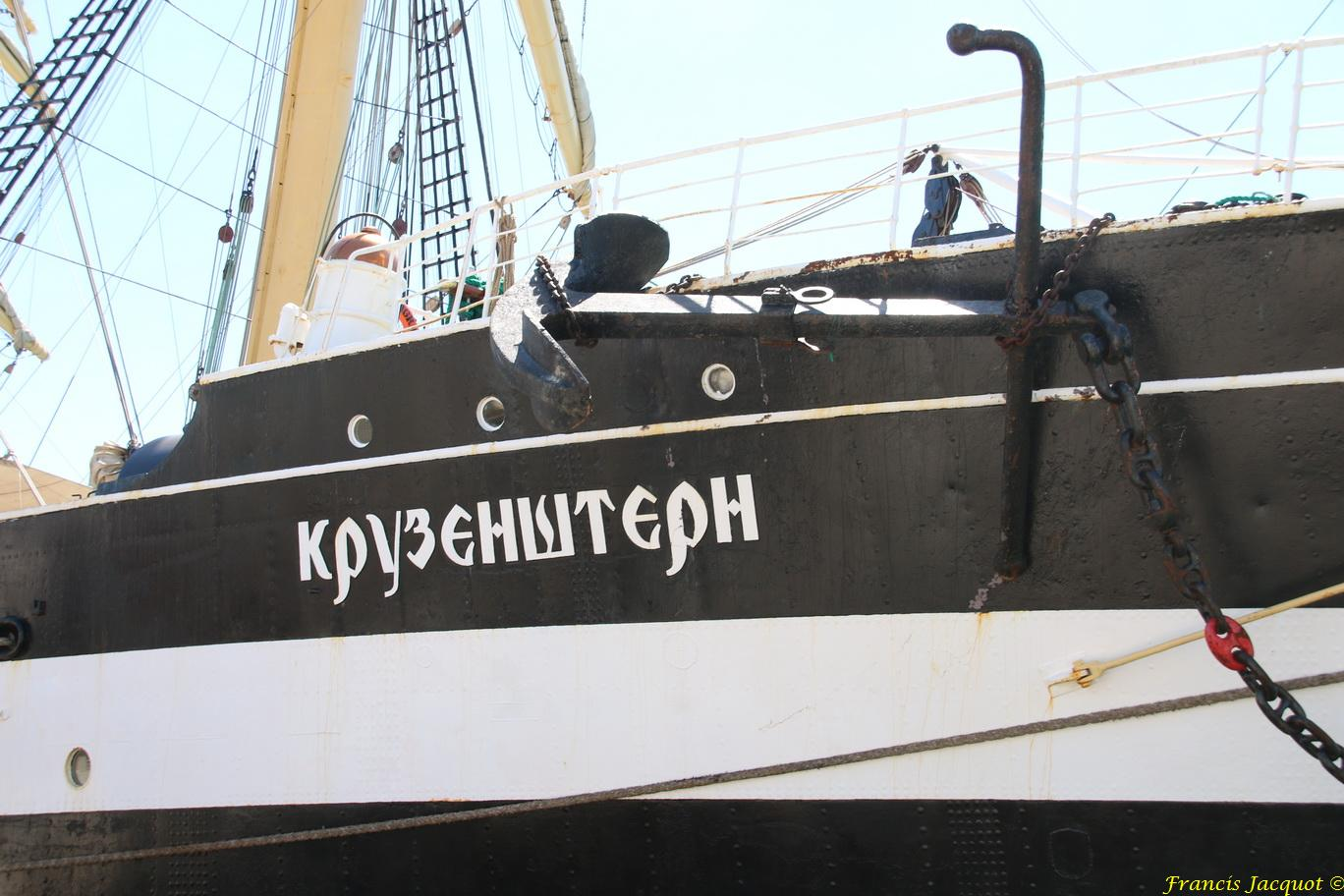 [ Marine à voile ] Voilier Russe KRUZENSTERN 7589731204