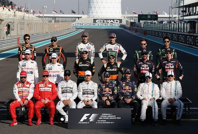 F1GP d'Abu Dhabi 2014 : Lewis Hamilton victoire et champion du monde 7589802014photofindesaison